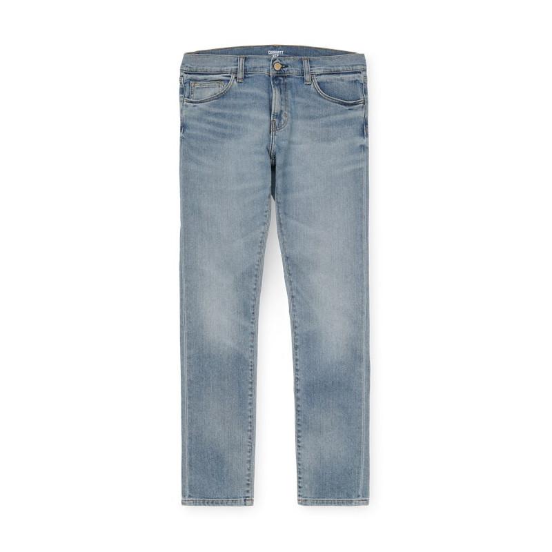 Pantalón Carhartt: Rebel Pant (Blue light used wash)