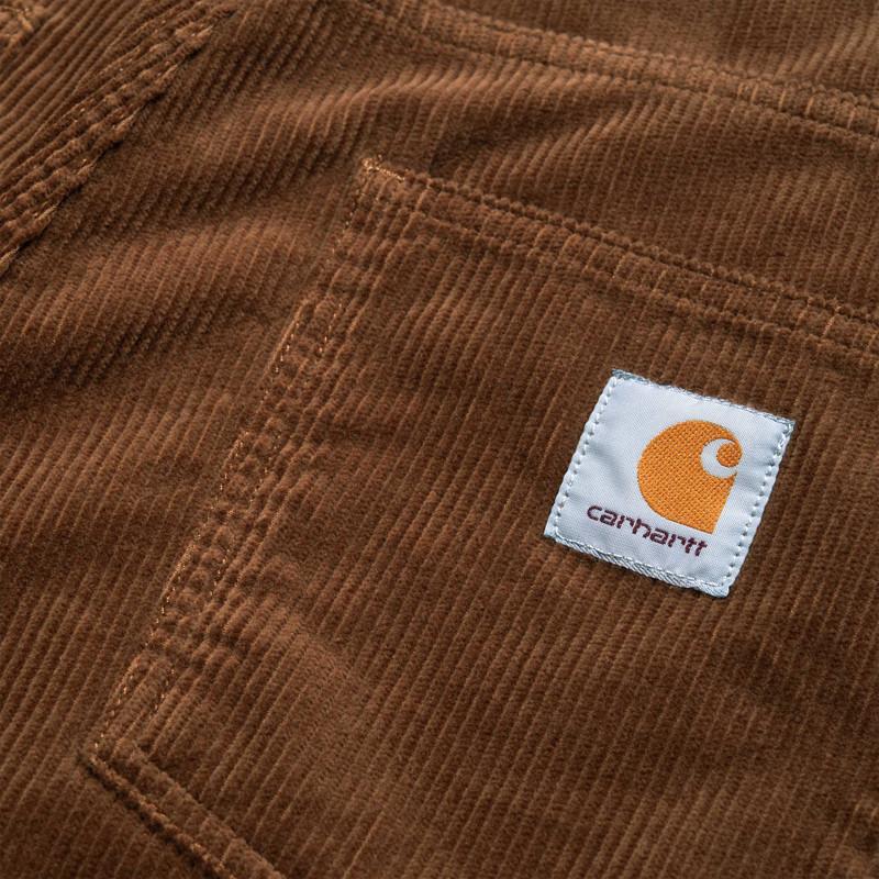 Pantalón Carhartt: Newel Pant (Hamilton Brown rinsed)