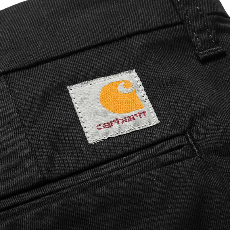 Pantalón Carhartt: Sid Pant (Black rinsed)
