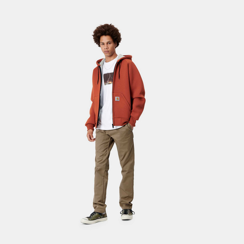 Pantalón Carhartt: Sid Pant (Leather rinsed)