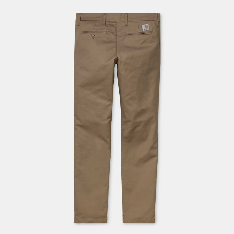 Pantalón Carhartt: Sid Pant (Leather rinsed)