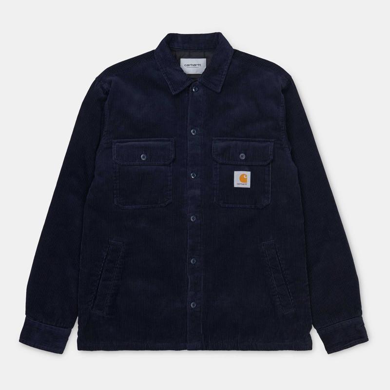 Chaqueta Carhartt: Whitsome Shirt Jac (Dark Navy)