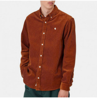 Camisa Carhartt: LS Madison Cord Shirt (Brandy Wax) Carhartt - 1