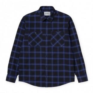 Camisa Carhartt: LS Darren Shirt (Darren Check Lapis)