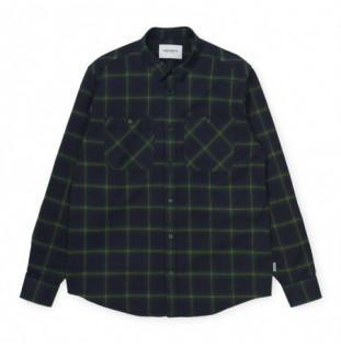 Camisa Carhartt: LS Darren Shirt (Darren Check Bott Green) Carhartt - 1