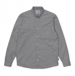 Camisa Carhartt: LS Bintley Shirt (Bintley Check Black) Carhartt - 1
