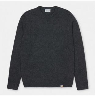 Jersey Carhartt: Allen Sweater (Black Heather) Carhartt - 1