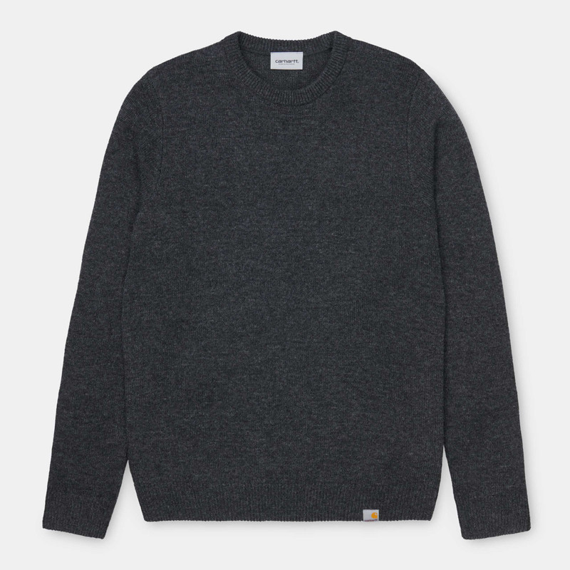 Jersey Carhartt: Allen Sweater (Black Heather)