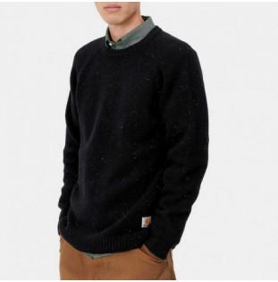 Jersey Carhartt: Anglistic Sweater (Black Heather) Carhartt - 1