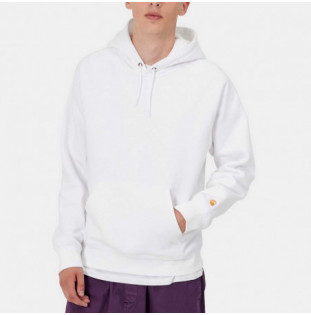 Sudadera Carhartt: Hooded Chase Sweat (White Gold) Carhartt - 1