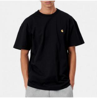 Camiseta Carhartt: SS Chase TShirt (Black Gold) Carhartt - 1