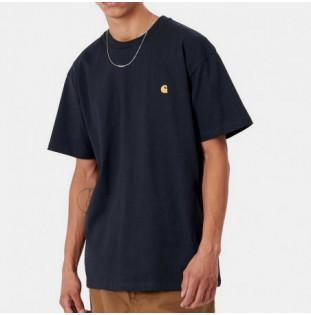 Camiseta Carhartt: SS Chase TShirt (Dark Navy Gold) Carhartt - 1