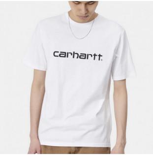 Camiseta Carhartt: SS Script TShirt (White Black) Carhartt - 1