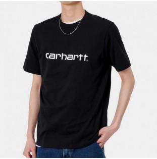 Camiseta Carhartt: SS Script TShirt (Black White) Carhartt - 1