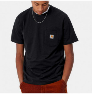 Camiseta Carhartt: SS Pocket TShirt (Black)