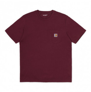 Camiseta Carhartt: SS Pocket TShirt (Bordeaux)