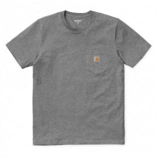 Camiseta Carhartt: SS Pocket TShirt (Dark Grey Heather)