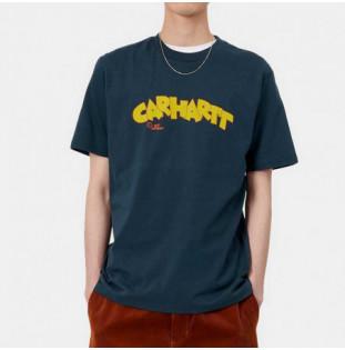 Camiseta Carhartt: SS Loony Script TShirt (Admiral)