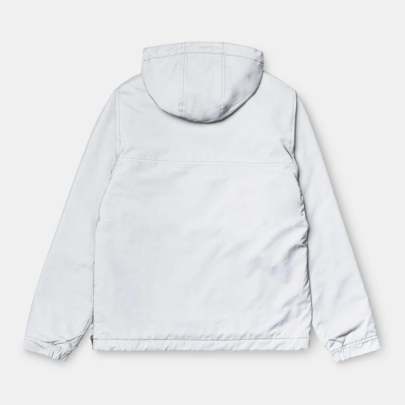 Chaqueta Carhartt: W Nimbus Reflective Pullover (Grey Reflec)