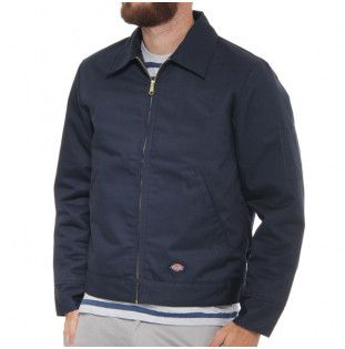 Chaqueta Dickies: LINED EISENHOWER JACKET (DARK NAVY)