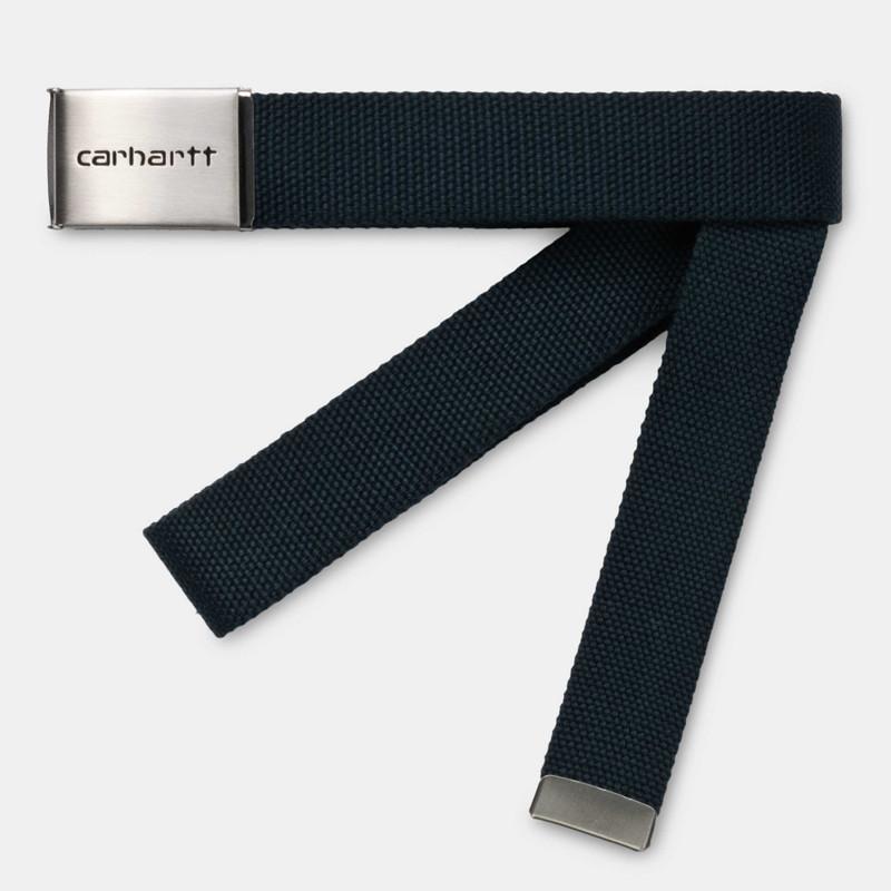 Cinturón Carhartt: Clip Belt Chrome (Admiral)