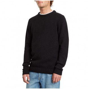 Jersey Volcom: EDMONDER SWEATER (BLACK WHT) Volcom - 1