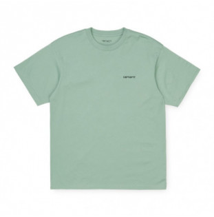 Camiseta Carhartt: SS Script Embroidery TShirt (Frst Gre BLK) Carhartt - 1