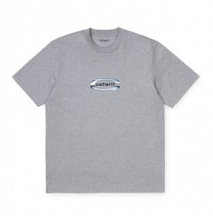 Camiseta Carhartt: SS Chrome TShirt (Grey Heather)