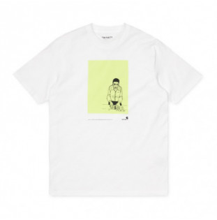 Camiseta Carhartt: SS 1999 Ad Evan Hecox TShirt (Frost Green)