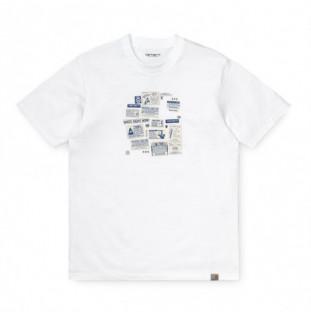 Camiseta Carhartt: SS Atlas Ads C TShirt (White)