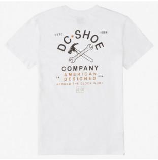 Camiseta DC Shoes: AROUND THE CLOC (WHITE) DC Shoes - 1
