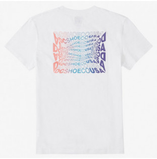 Camiseta DC Shoes: WAVY TSS (WHITE) DC Shoes - 1