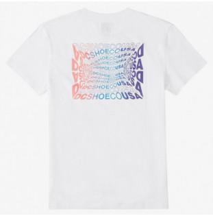 Camiseta DC Shoes: WAVY TSS (WHITE) DC Shoes - 1