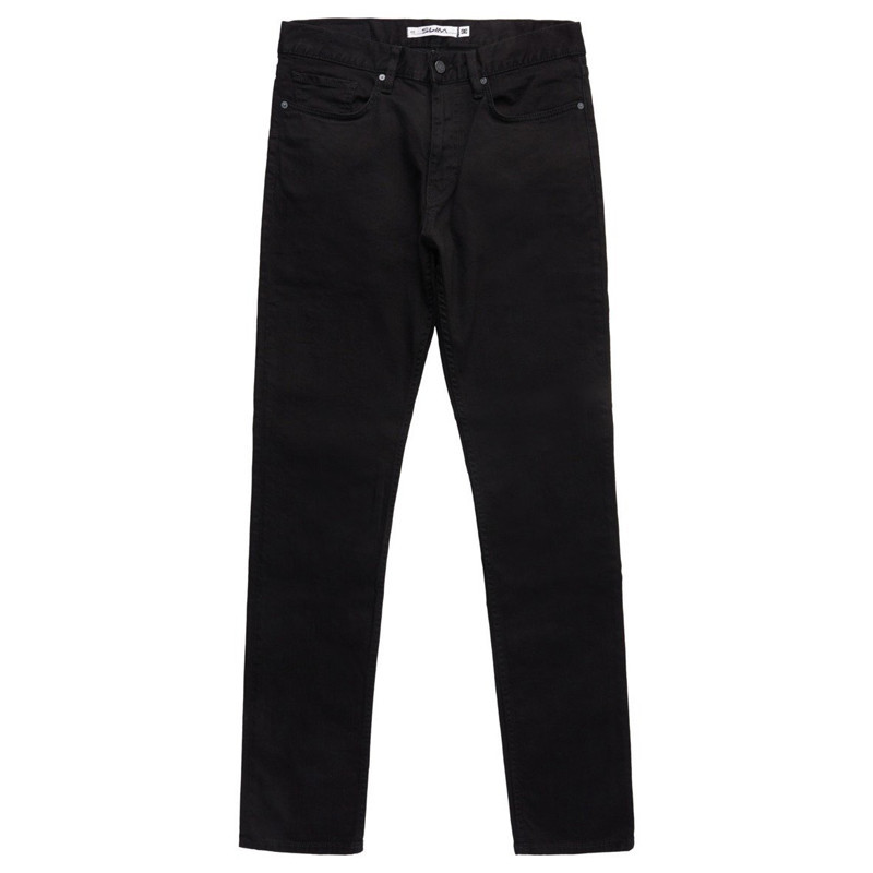 Pantalón DC Shoes: WORKER SLIM SBR (BLACK RINSE)
