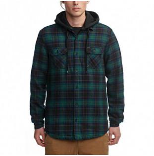 Camisa Globe: Alford III LS Shirt (Marine)