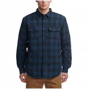 Camisa Globe: Camden II LS Shirt (Ink)