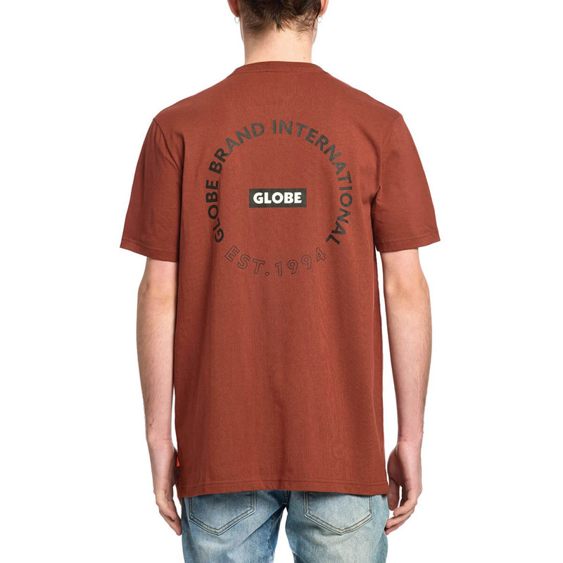 Camiseta Globe: Device Tee (Rust)