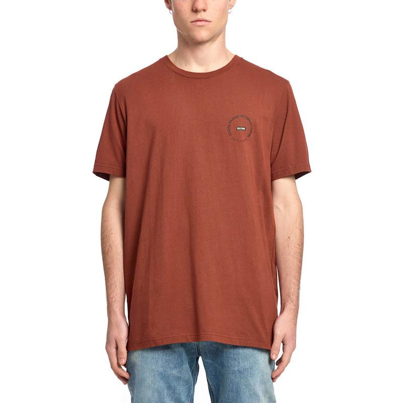 Camiseta Globe: Device Tee (Rust)