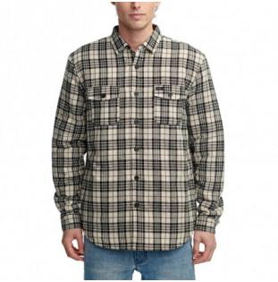 Camisa Globe: Camden II LS Shirt (Cashew)