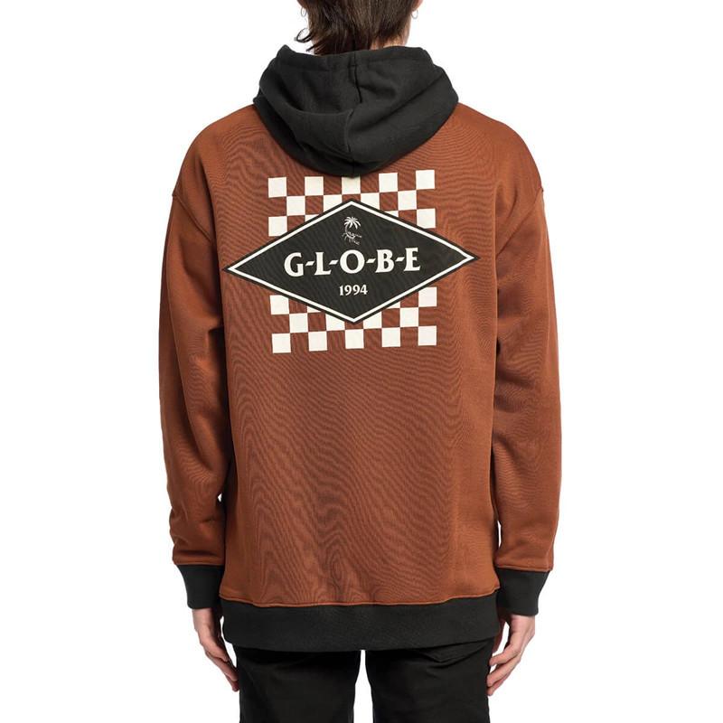 Sudadera Globe: Check Out Hoodie (Rust)