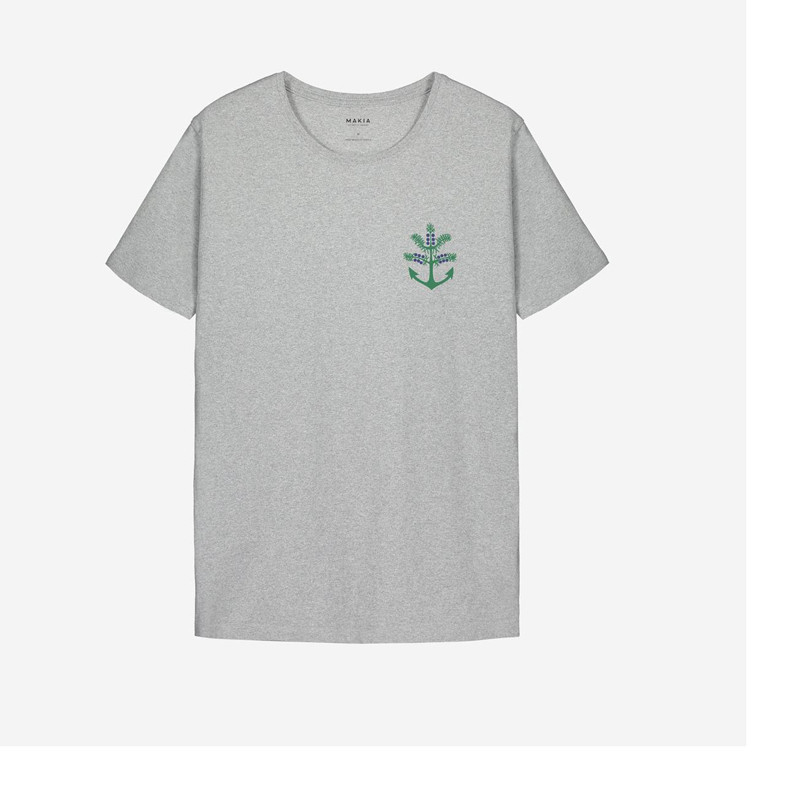 Camiseta Makia: Nokka T shirt (LIGHT GREY)