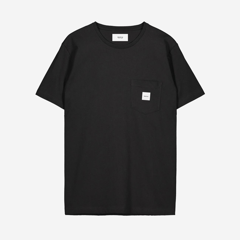 Camiseta Makia: Square Pocket T shirt (BLACK)