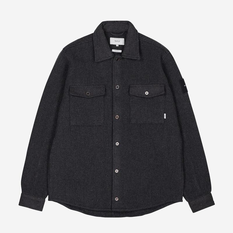 Camisa Makia: Rover Overshirt (GREY)