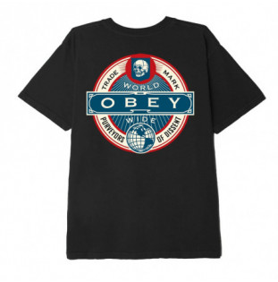 Camiseta Obey: OBEY PURVEYORS OF DISSENT (BLACK) Obey - 1