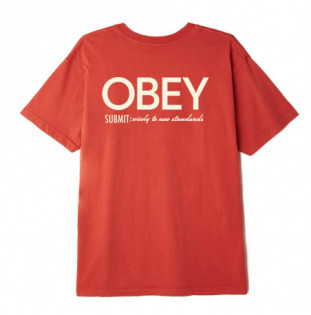 Camiseta Obey: SUBMIT WISELY (CHILI) Obey - 1