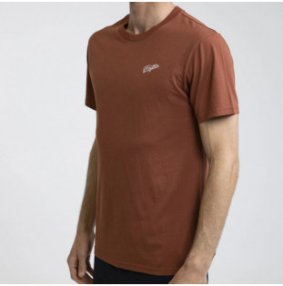 Camiseta Rhythm: ESSENT SCRIPT T-SHIRT (Henna) Rhythm - 1