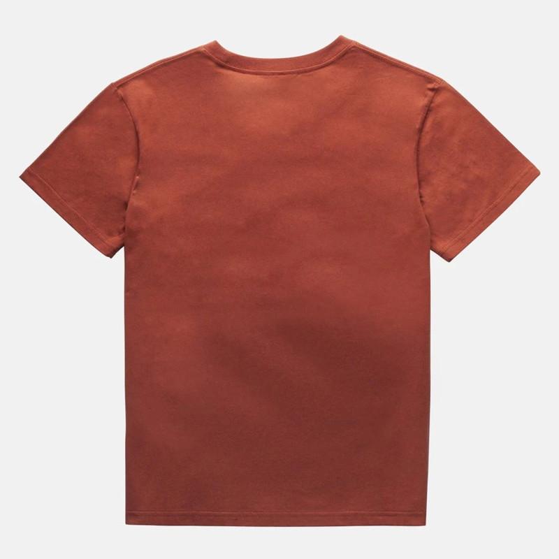 Camiseta Rhythm: ESSENT SCRIPT T-SHIRT (Henna)