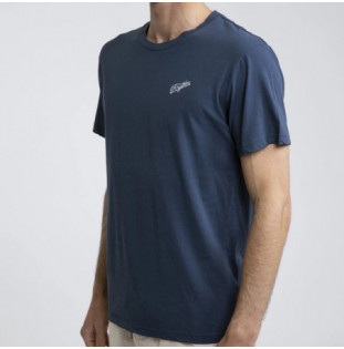 Camiseta Rhythm: ESSENT SCRIPT T-SHIRT (Navy)