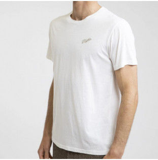 Camiseta Rhythm: ESSENT SCRIPT T-SHIRT (White)