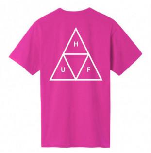 Camiseta HUF: ESSENTIALS TT SS TEE (CORAL)